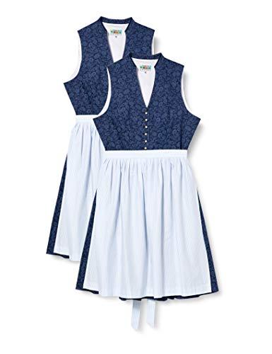 BERWIN & WOLFF TRACHT FOLKLORE LANDHAUS Damen Dirndl Kleid 806219 Größe 32
