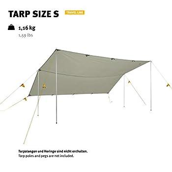 Wechsel Tents Tarp S ? Travel Line ? Auvent en Toile de Tente à Usage Polyvalent pour Le Camping et Le Jardin - 290 x 400 cm