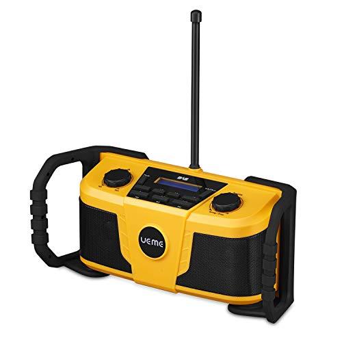UEME Job Site DAB and FM Radio Stereo With Bluetooth Streaming & DAB+
