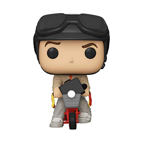 Funko 51949 POP Ride: Dumb & Dumber-Lloyd w/Bicycle Sammelbares Spielzeug, Mehrfarben