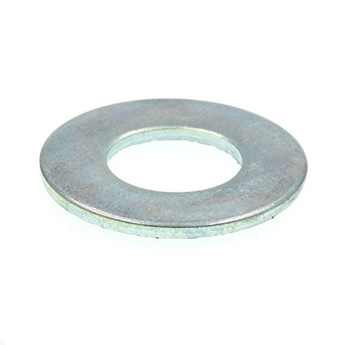Prime-Line 9080880 Flat Washers, SAE, 5/8 in. X 1-5/16 in. OD, Zinc Plated Steel, 25-Pack