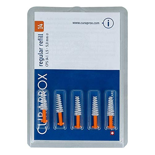 CURAPROX CPS 14 Lot de 5 interdentaires 1,5-5 mm de diamètre
