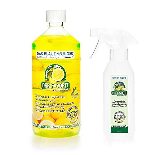 Das Blaue Wunder - Der Favorit Allzweckreiniger (1000 ml, Zitrone)
