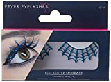 Smiffys Eyelashes Spiderwebs with Glitter
