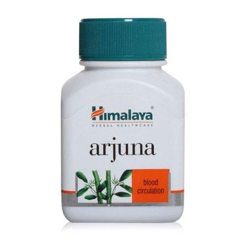 Himalaya Herbals Arjuna | Terminalia Arjuna | Natürliche Unterstützung für Durchblutung | aus reinen Kräutern, 60 Kapseln (1-Pack)