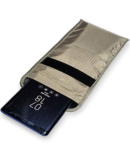LVFEIER Sicherheitstasche – Handy Anti-Spioning, GPS, RFID, Signalblockierung, Schutztasche für Handy