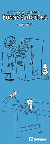 Bunny Suicides 2018: Slim Notes Kalender teNeues