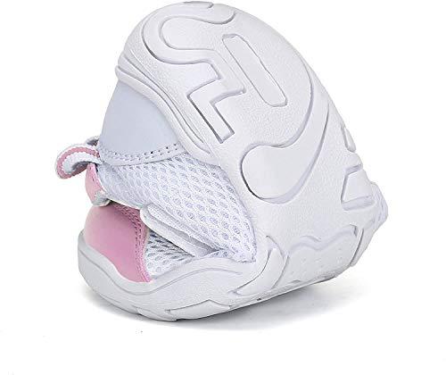 [Mishansha]キッズ上履き子供靴幼稚園学校保育園(15.0cm,ピンク)