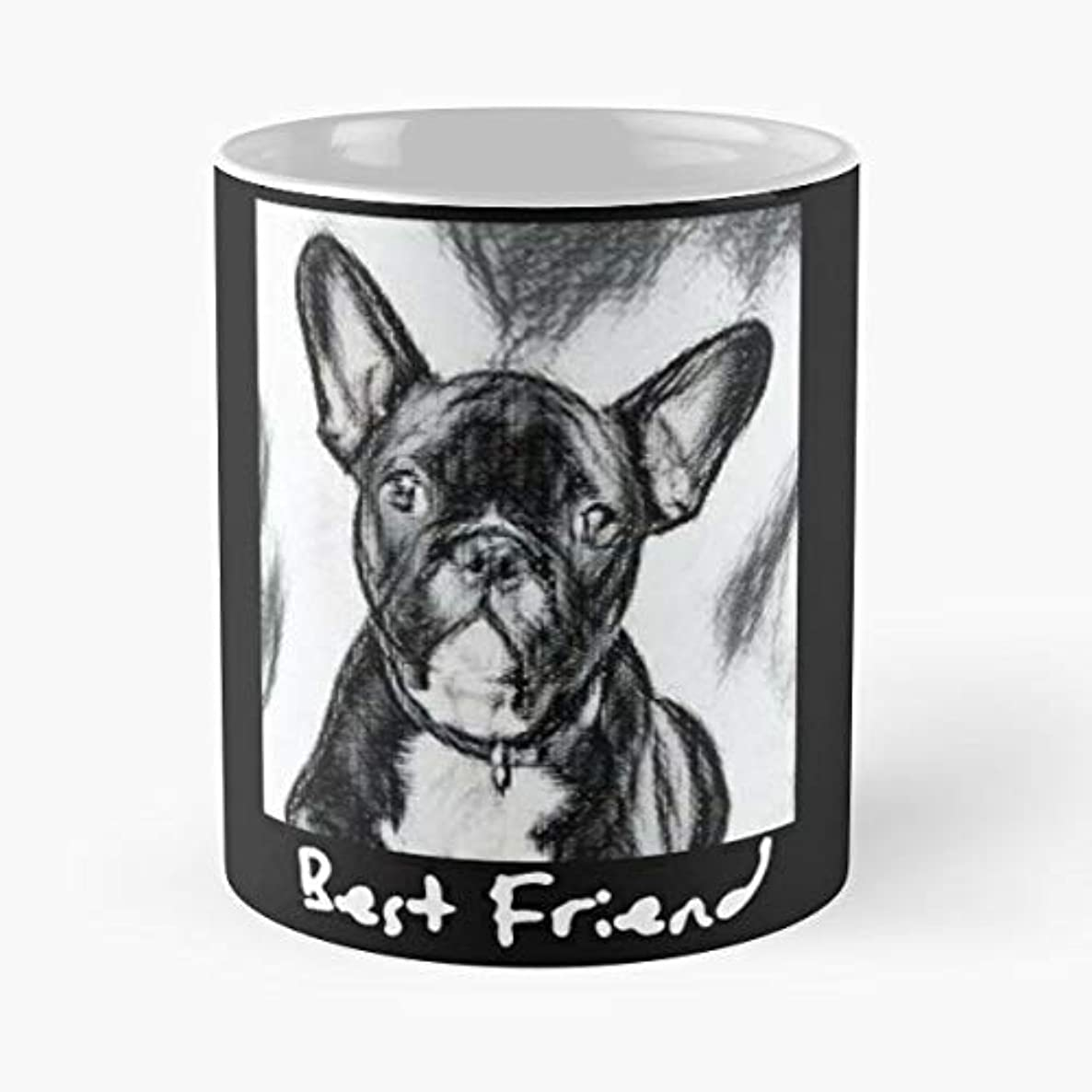 Puppy Best Friend French Bulldog Frenchie - Coffee Mug Tea Cup Gift 11oz Mugs The Gift Holidays.