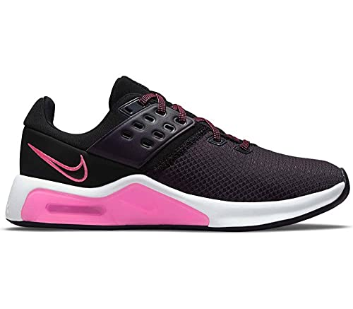 Nike Air MAX Bella TR 4, Zapatillas Deportivas Mujer, Black Hyper Pink Cave Purple White, 35.5 EU