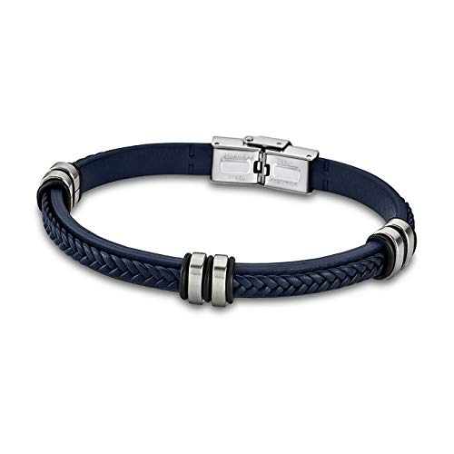 Lotus Style Armband Damen/Herren LS1829-2/5 Leder blau Markenschmuck D1JLS1829-2-5