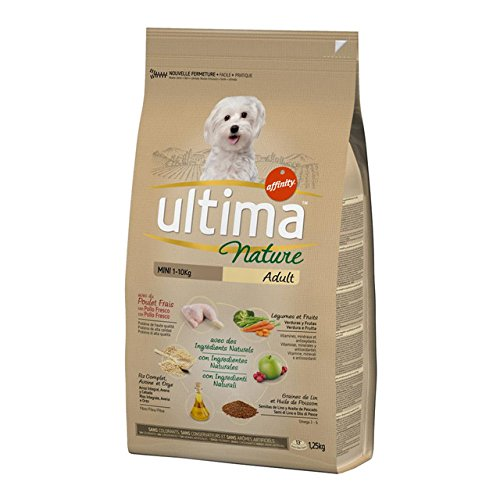 Ultima Nature Pienso para Perros Mini con Pollo - 1250 gr