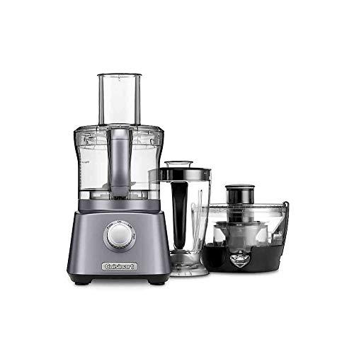 Cuisinart CFP-800 Kitchen Central with Blender, Juicer and Food Processor (Gunmetal)