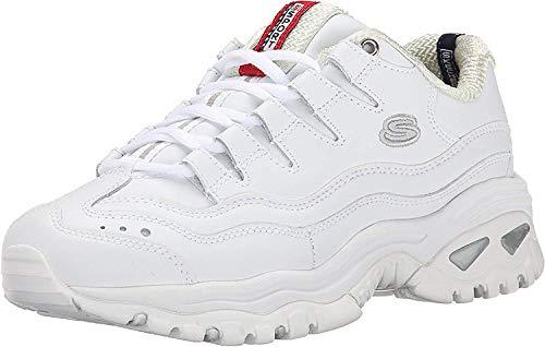 Skechers Sport-Energy, Zapatillas para Mujer, Blanco (Wml), 37 EU