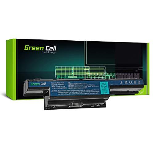 Green Cell® Standard Serie Laptop Akku AS10D31 AS10D3E AS10D41 AS10D51 AS10D61 AS10D71 AS10D73 AS10D75 AS10D81 für Acer/eMachines/Packard Bell (6 Zellen 4400mAh 10.8 V Schwarz)
