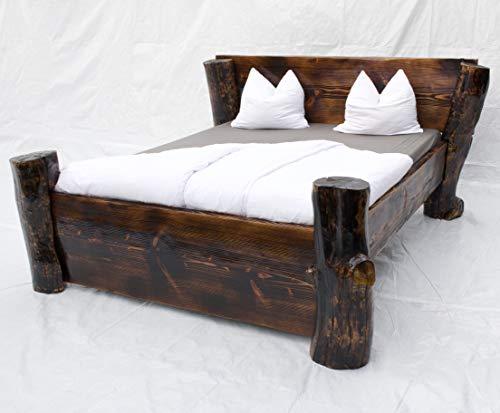 BOSCO BOSCHIVO Doppelbett Ehebett Holzbett Massivholz LETTO MATRIMONIALE Handmade IN Germany