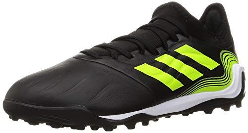 adidas Herren Copa Sense.3 Tf Soccer Shoe, Core Black FTWR White Solar Yellow, 42 EU