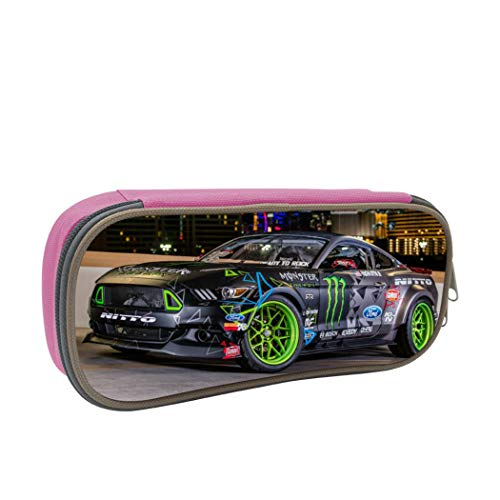 Gua Tan Car Pencil Case Large Capacity Pen Case Office Stationery Bag for Gilrs Boys and Adults