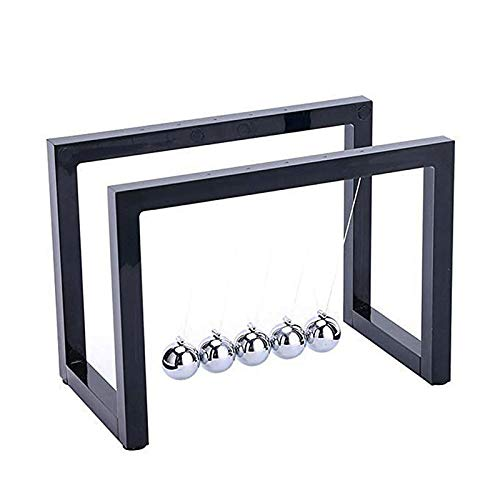Newtons Cradle Balance Balls with Science Physics Learning Fun Gadget Pendulum for Office Desk Toys and Home Decoration
