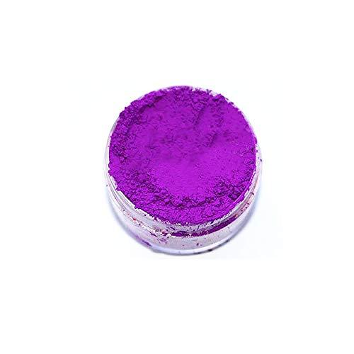KandyDip Effektpigment NEON VIOLETT Flourescent FLUORESZIEREND Farbpulver Pigment für Epoxidharz Autolack Sprühfolie Pigmente Aquarell Seife Powder (25 Gramm)