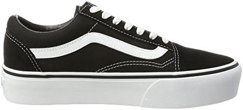Amazon.com | Vans Women's's Old Skool Platform Trainers Black ...