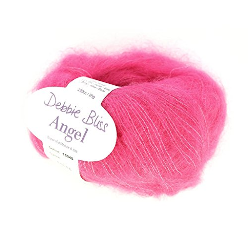 Wolle Debbie Bliss Angel Hot Pink (Farbe 45) x25g