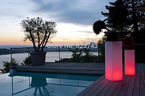Soporte a Prueba de Agua al Aire Libre Marco de Hielo Control Remoto Mambo lámpara de Muebles de Maceta de luz