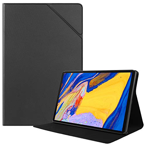 HoYiXi Hülle für Lenovo Tab M10 Plus 10.3 Slim Leder Smart Abdeckung mit der Stand Funktion Tablet Schutzhülle für 10.3 Zoll Lenovo Tab M10 Plus 10.3 TB-X606F/TB-X606X - schwarz