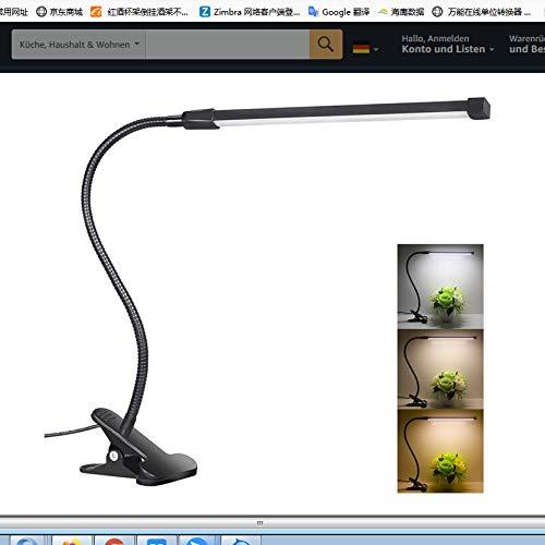 BoBoLily Lámparas de mesa,Luz de noche LED,Lámpara de lectura táctil USB LED Luz de noche