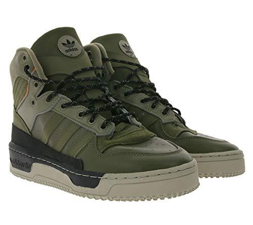 adidas Originals Rivalry Trainer 80s - Zapatillas de deporte para hombre y mujer, color verde, color Verde, talla 40 EU