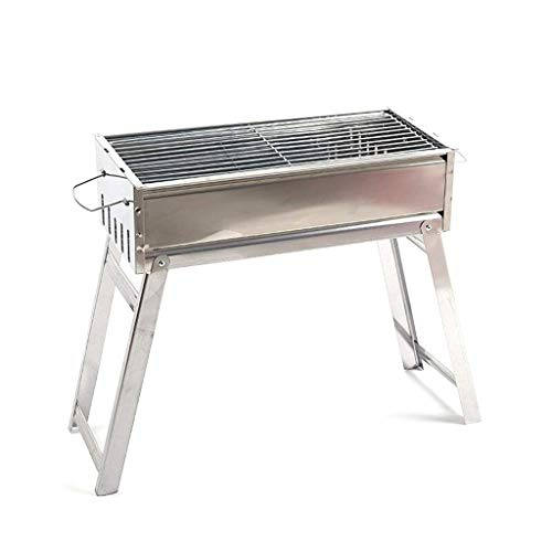 FHISD BBQ Grill - Barbecue Home Barbecue Charcoal Barbecue Shelf Outdoor Grill