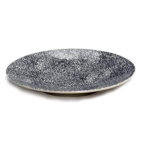 Lambert - Kaori - Teller, Speiseteller - Ø: 27,5 cm - Steingut - mit schöner Krakelee Glasur - 1 Stück