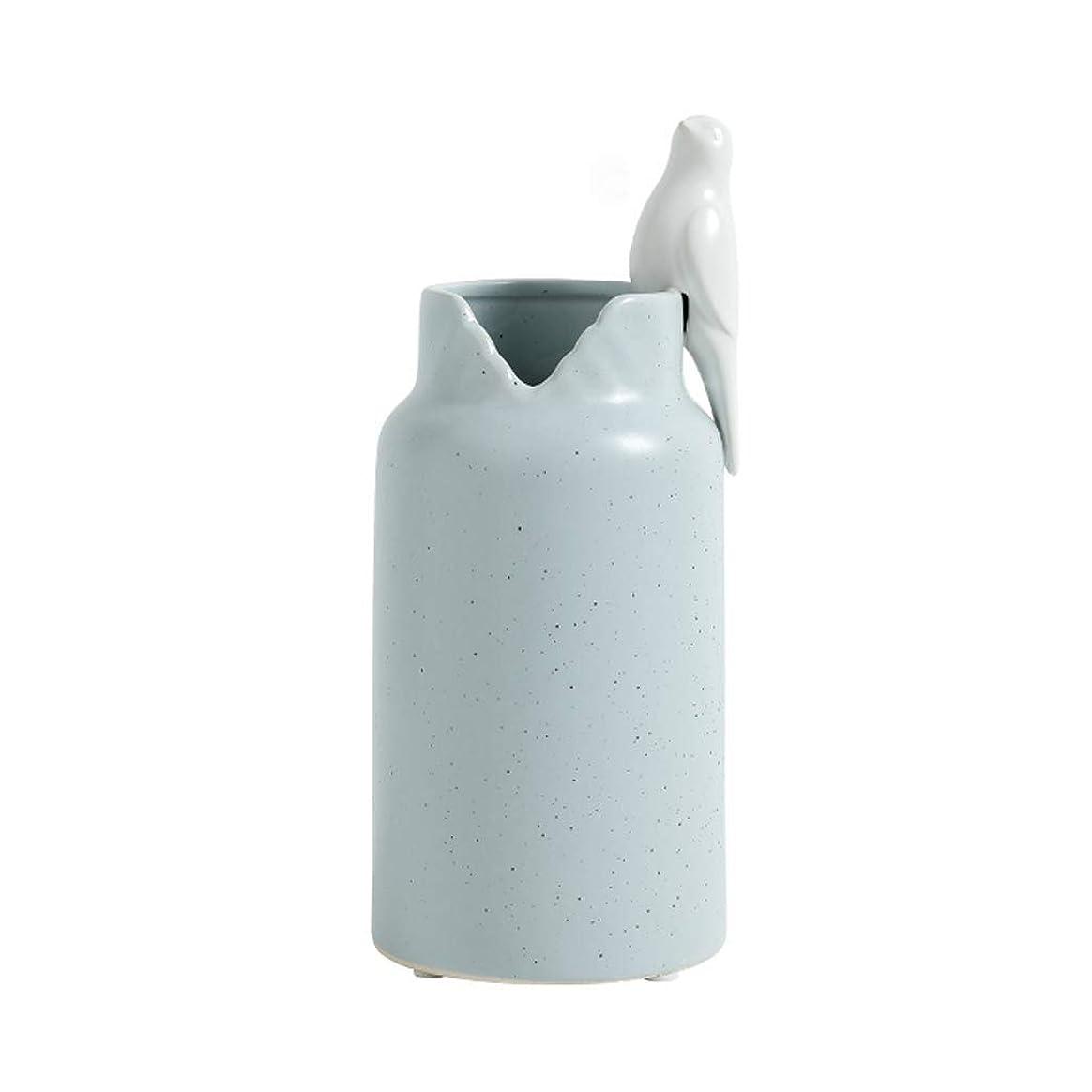 不信冗長放出花器 装飾花瓶ジュエリーデコレーションテレビキャビネットデスクワイン 磁器粘土素晴らしい手作りスキルセラミック (Color : A-10*23.5cm)