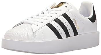adidas SUPERSTAR BOLD W Women s Shoes | Superstar Bold White/Black/Metallic Gold 8 Medium US