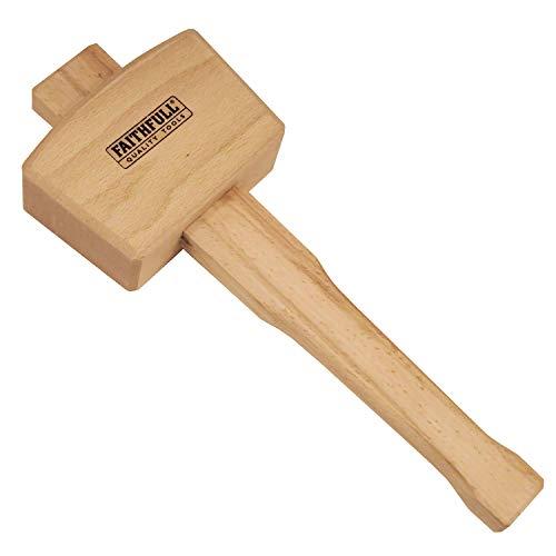 Faithfull FAICM412 - Maza de madera (tamaño: 4.1/2pulgadas)