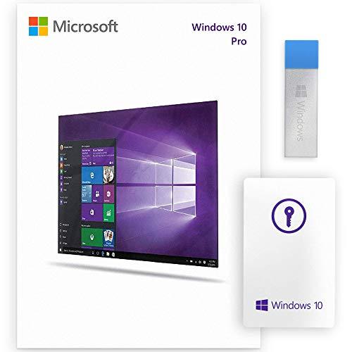 Windows 10 Pro 64 Bits / 32 Bits - Windows 10 Professionnel 32/64 Bits - USB - Licence Français