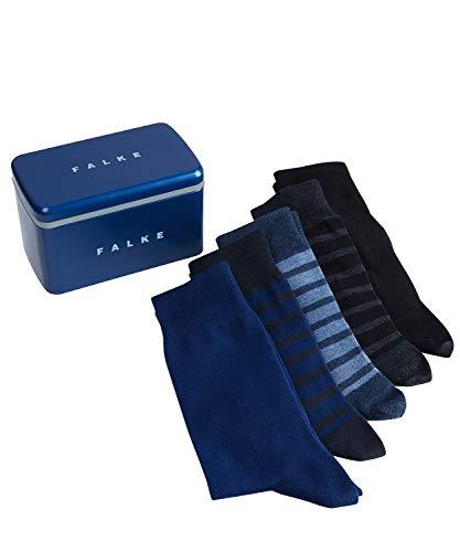 FALKE Herren Happy Box 5-Pack M SO Socken, Mehrfarbig (Sortiment 10), 39-42 (5er Pack)