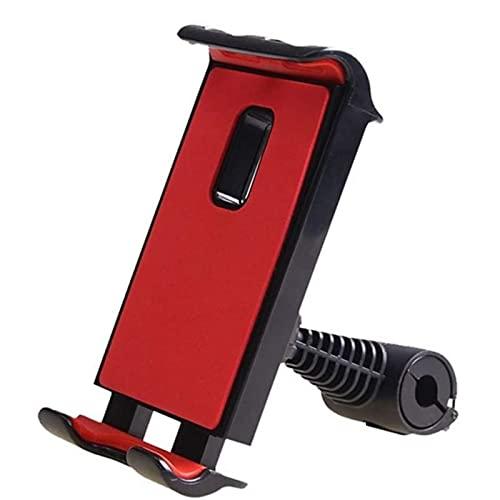 Tenedor del teléfono del automóvil, 360 rotación del teléfono móvil soportes de montaje del teléfono tableta con tableta asiento ajustable soporte para iPad soporte para teléfono para el reposacabezas