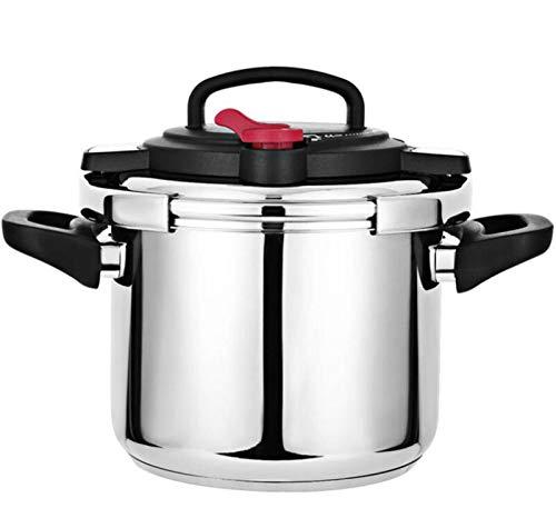 Cuisinière à pression Acier inoxydable Cuisinière à la maison Cuisine Soupe à soupe Cuisin Cuisine Ustensiles Convient à la cuisinière à induction, Poêle en céramique électrique à flamme ouvert, etc.6