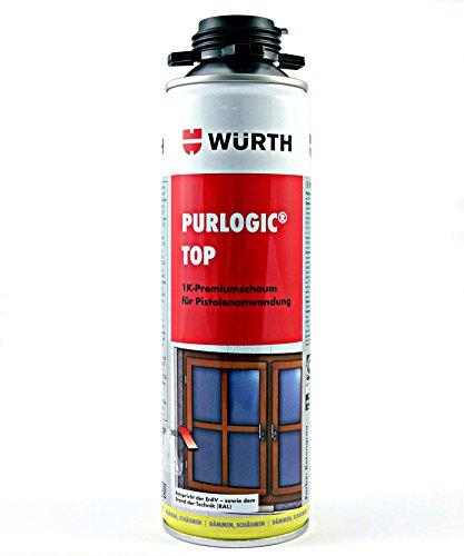 Würth Purlogic Top 1K Pistolenschaum Betongrau Bauschaum Montageschaum 0892142