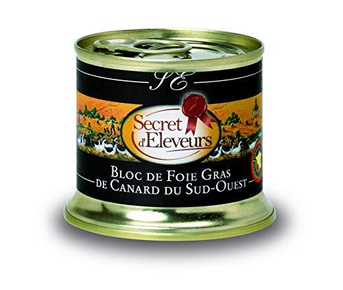Secret dEleveurs Bloc de Foie Gras de Canard du Sud Ouest 150 g