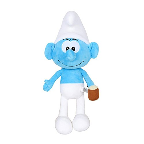 "Smurfs Hefty Smurf, Stuffed Animals Plush Toy for Kids Room Decoration 15"""