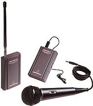 Audio-Technica ATR288W TwinMic VHF Battery-Powered Wireless Microphone System