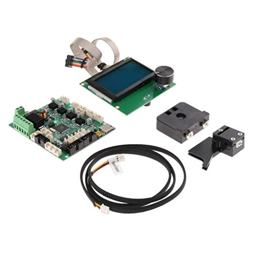 LHQ-HQ 3D-Drucker Upgrade-Kits Sets mit LCD-Display & Mainboard & Motor Draht for CR-10S Elektromotor