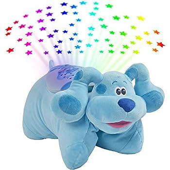Pillow Pets Blue's Clues Blue Sleeptime Lite 11  Stuffed Animal Plush Nightlight