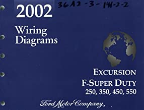 Amazon Com 2002 Ford Excursion Wiring Diagram Books