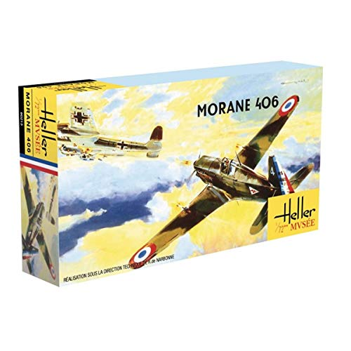 Heller- Modellino Morane Saulnier MS406-C1, 80213