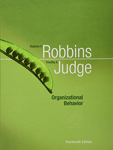 Organizational Behavior (14th Edition)