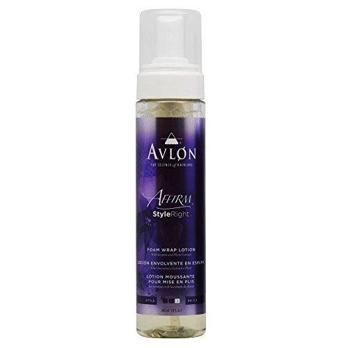 Avlon Affirm StyleRight Foam Wrap 8-ounce Lotion