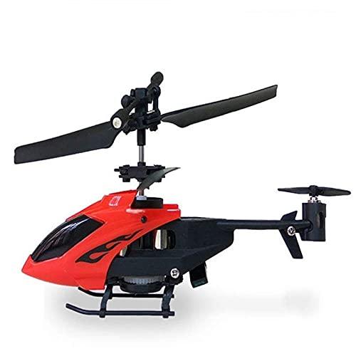 2 canales RC Helicóptero de inducción de detección de infrarrojos con colorido DIRIGIÓ Iluminación parpadeante, control remoto de 2.4GHz volando drones regalos de cumpleaños juego de historia para adu